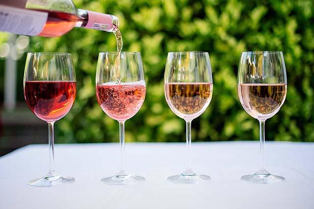 Champagne at Villa Azur