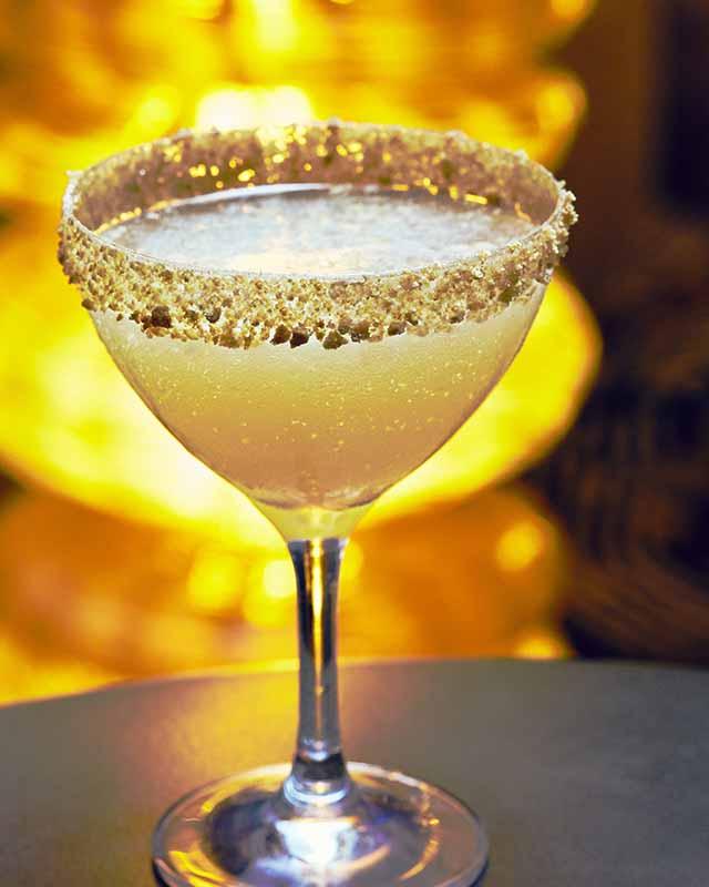 Smoky Butternut Squash Martini at L Bar