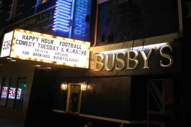 Holiday Comedy Jam at Busby's