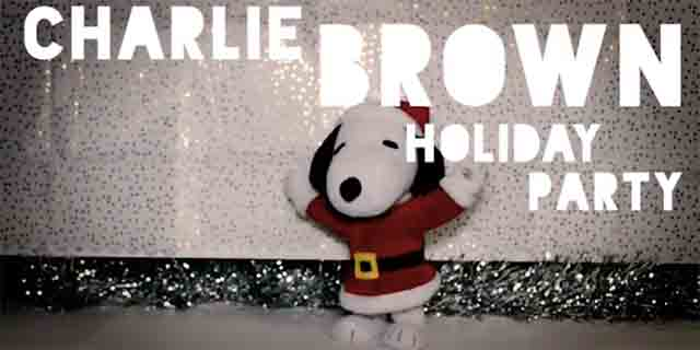 A Charlie Brown Holiday Party