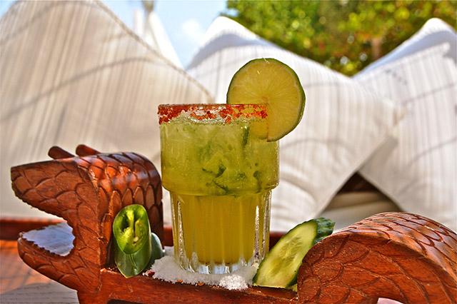 Cucumber Jalapeño Margarita at Nikki Beach Miami   Margaritas to Try Now in Miami