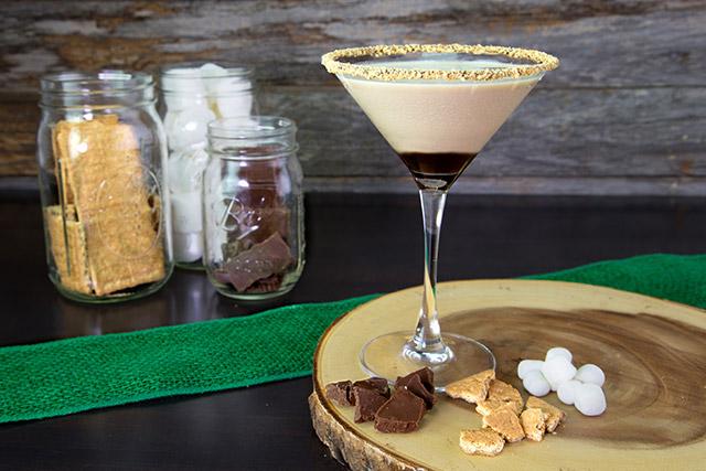 smores-martini at Duffy's