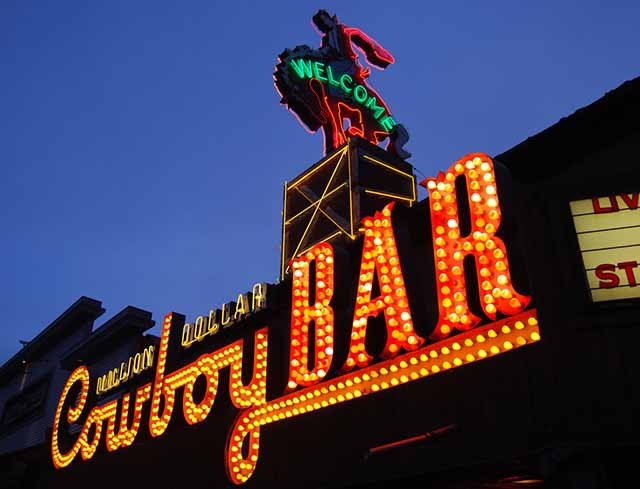 Million Dollar Cowboy Bar: Jackson's Hole Wyoming
