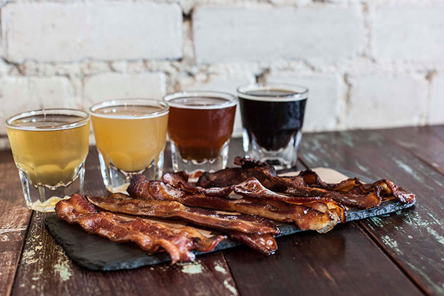 bacon-beer-flight