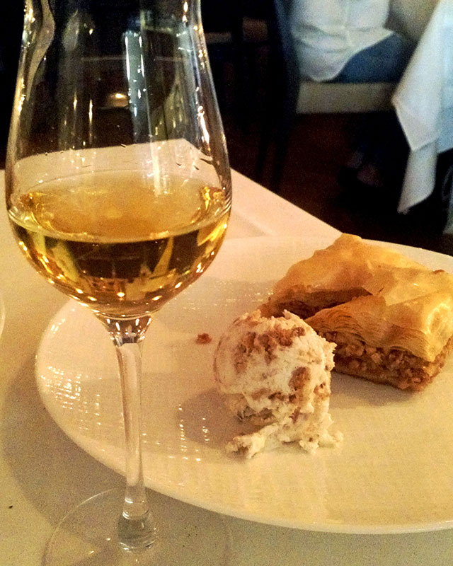 greek-wine-dinner-milos-miami-moschato-baklava-2