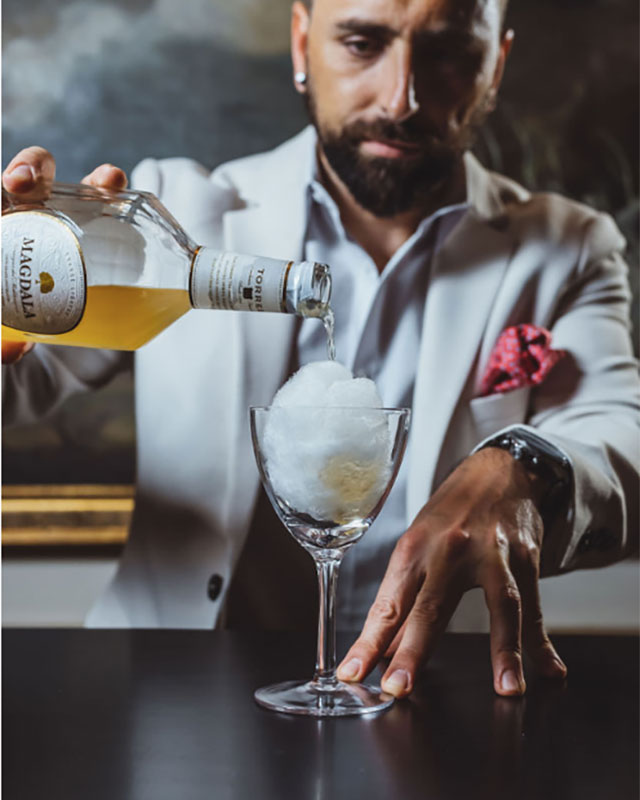 Magdala Crusta - Magdala Liquor at Barmini - Tales of the Cocktail 2019